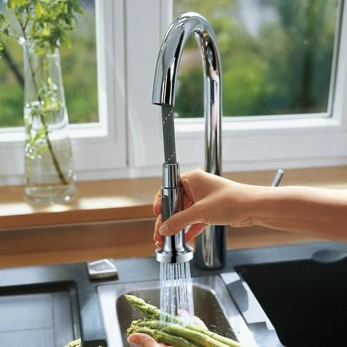 hansgrohe talis s variarc mitigeur cuisine avec douchette ... - Mitigeur Cuisine Avec Douchette Extractible